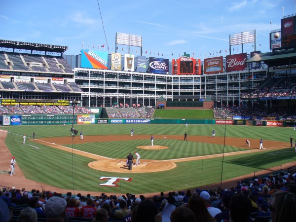 Arlington Ballpark Texas